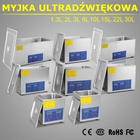 Myjka Ultradźwiękowa 6L 250W - Tech-CNC
