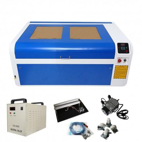Laser CO2 80W + CHILLER